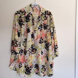 Floral print shirt top by boutique
